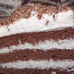 Пятиминутный шоколадный торт: пошаговый рецепт с фото