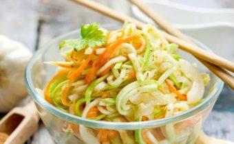 Кабачки по-корейски: самый вкусный рецепт с фото