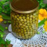 Зеленый горошек на зиму: рецепт в домашних условиях