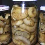грузди маринованные на зиму рецепты приготовления горячим способом