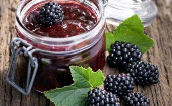 Варенье из ежевики на зиму с целыми ягодами: рецепт с фото