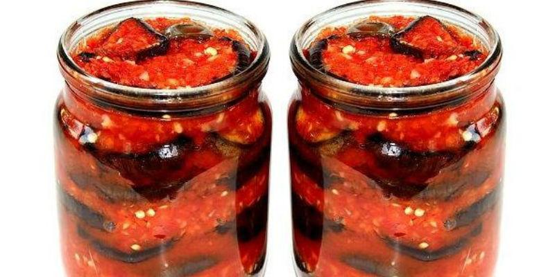 Тёщин язык из баклажанов: рецепт на зиму с фото пошагово