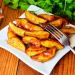 Картофель по-деревенски в духовке: пошаговый рецепт с фото