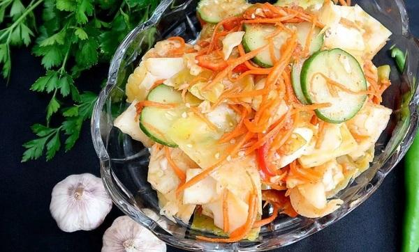 Цветная капуста «по-корейски»: Невероятно вкусно