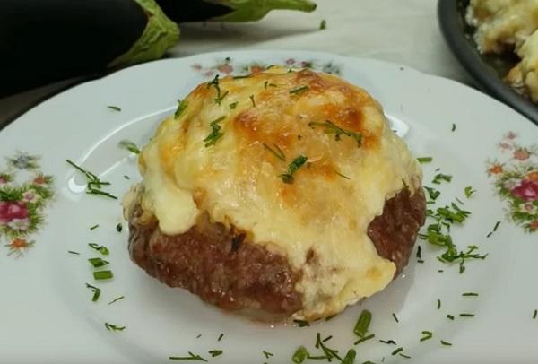 Картофель с фаршем в духовке