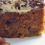 Пирог с финиками и грецкими орехами: простой рецепт
