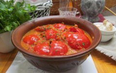 Дольки помидоров маринованные в соусе из болгарского перца | Кулинарные рецепты с фото пошагово