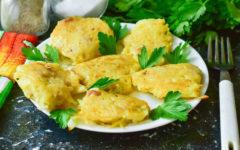 Драники с салом и луком: рецепт с фото пошагово
