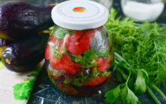 Баклажаны по азербайджански на зиму: рецепт с фото пошагово