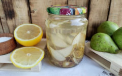 Компот из груш на зиму: рецепт с фото пошагово